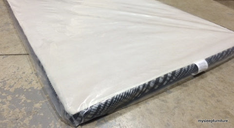 "TWIN (SINGLE) SIZE- (2"" THICK- VERY LOW PROFILE)- FACTORY SELECT COLOR- BOX SPRING"