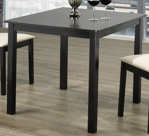 3105  ESPRESSO COLOR  EXTRA SMALL  WOOD  DINING TABLE