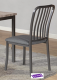 (3720- 2 PACK)- METAL- DINING CHAIRS- will be available after february 9, 2021