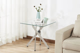 5005- GLASS- ACCENT SIDE TABLE