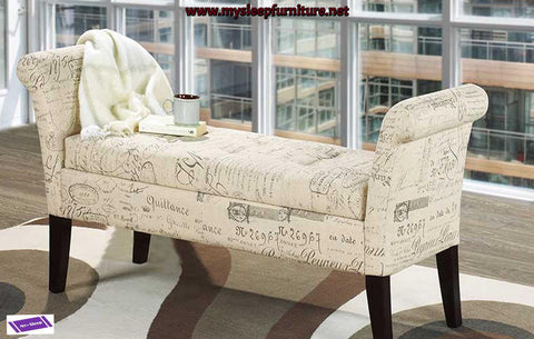 (668F FRENCH BEIGE)- FABRIC- BENCH