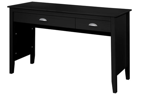 (985 BLACK)- SOLID WOOD- COMPUTER TABLE