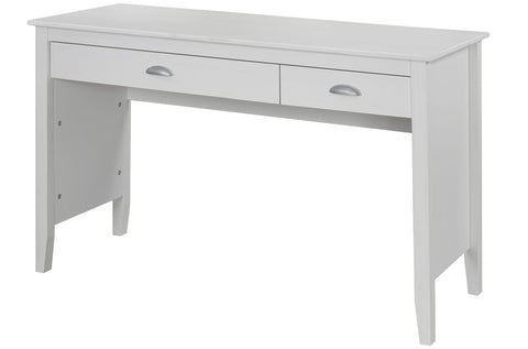 (985 WHITE)- SOLID WOOD- COMPUTER TABLE