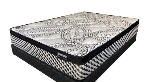 "TWIN (SINGLE) SIZE- 11"" THICK- (AMENITY)- EURO PILLOW TOP- POCKET COIL MATTRESS"