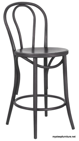 BELIZE FIXED HEIGHT GUNMETAL COUNTER STOOL