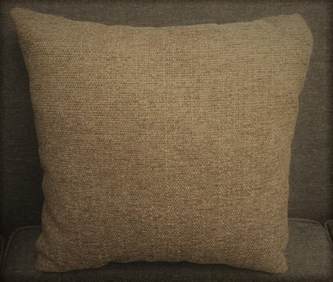 (STALLION NUTMEG BROWN)- CANADIAN MADE- TOSS CUSHION