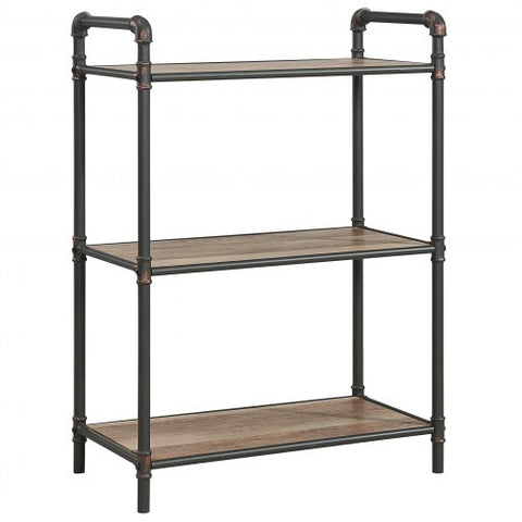 BRONX 3 TIER SHELF IN ANTIQUE BLACK
