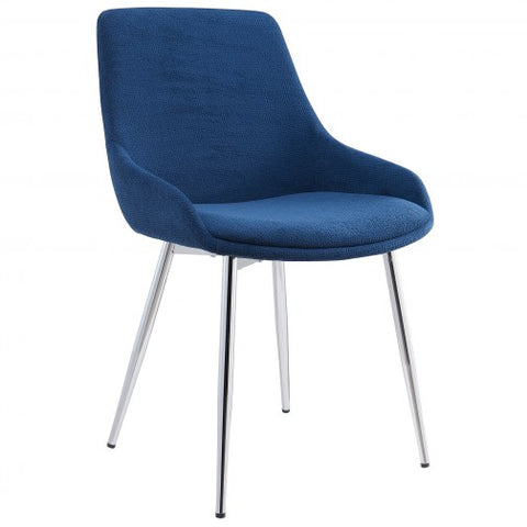 (CASSIDY BLUE- 2 PACK)- FABRIC- DINING CHAIRS