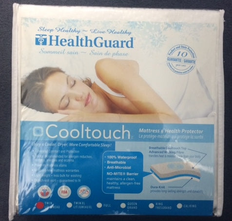 DOUBLE (FULL) SIZE- COOLTOUCH- WATERPROOF- MATTRESS PROTECTOR