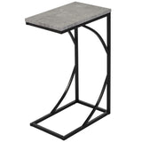 (DARCY GREY)- WOOD- ACCENT TABLE