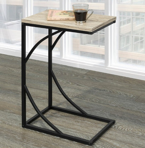 (DARCY NATURAL)- WOOD- ACCENT TABLE