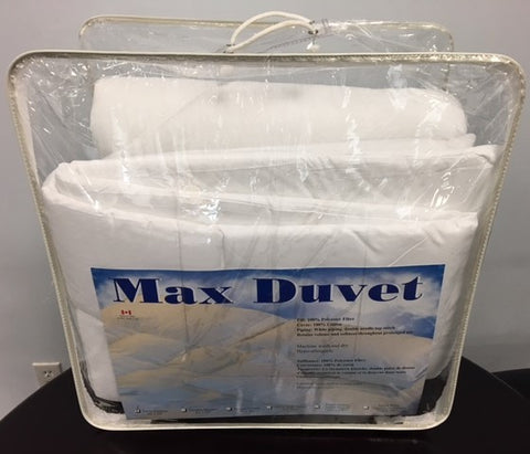 KING SIZE- MAX- DUVET (Made in Canada)