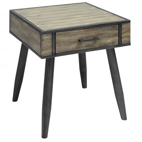 EDINBURGH- GREY COLOR- ACCENT TABLE