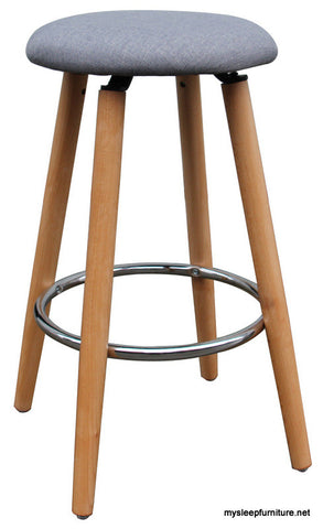ETTA GREY COLOR FIXED HEIGHT COUNTER STOOL