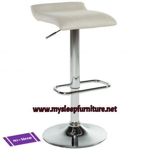 (FABIA BEIGE)- FABRIC- BAR STOOL (only 1 pc. left)