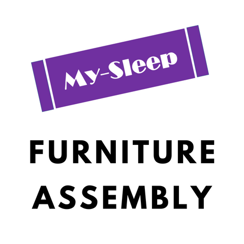 ASSEMBLY SERVICE- FOR BED FRAME- TWIN, DOUBLE, QUEEN, KING SIZES- (WITH DRAWERS ON 1 SIDE RAIL)