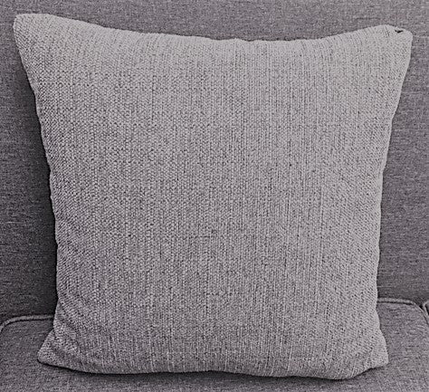 LIGHT GREY- TOSS CUSHION- CANADIAN MADE