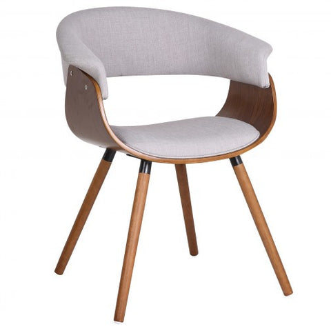 (HOLT GREY)- FABRIC- ACCENT/ DINING CHAIR