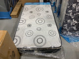 "TWIN (SINGLE) SIZE- 9"" THICK- (NIGHT DREAM)- FIRM- EURO PILLOW TOP- FOAM MATTRESS"