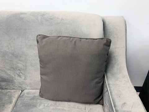 (DARK GREY)- CANADIAN MADE- TOSS CUSHION- ONLY 1 LEFT