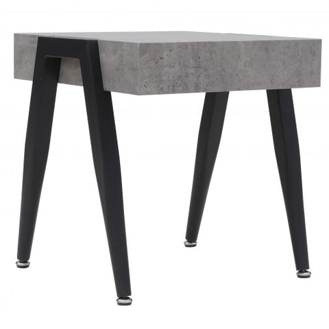 LISSON- CEMENT- ACCENT TABLE