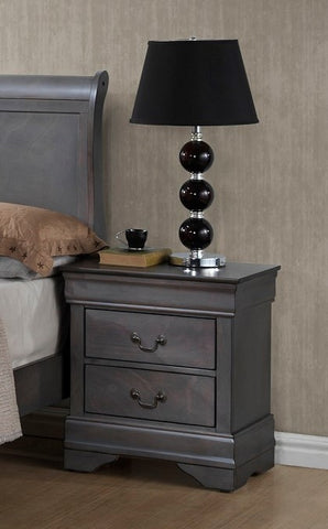 (LP GREY 4934A- 2)- NIGHT STAND