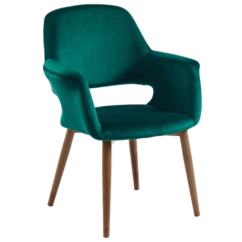 (MIRANDA GREEN)- FABRIC- ACCENT CHAIR