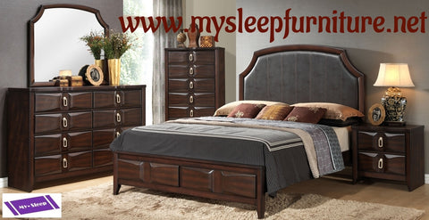 QUEEN SIZE- NINA- 8 PC.- BEDROOM SET