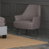 NOMI GREY FABRIC ACCENT CHAIR