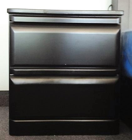NORTH- DARK BROWN COLOR- 2 DRAWER NIGHT STAND