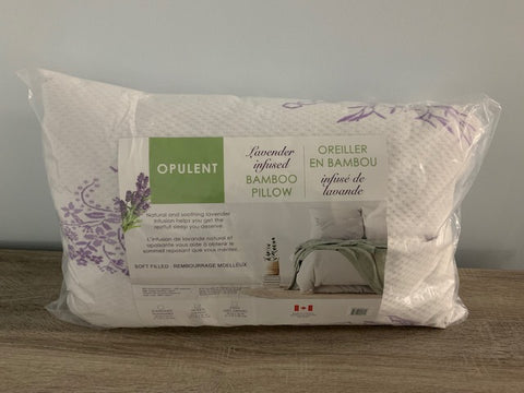 QUEEN SIZE- (OPULENT LAVENDER)- CANADIAN MADE- PILLOW