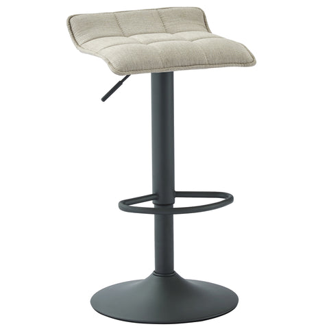 (PLUTO BEIGE)- FABRIC- BAR STOOL