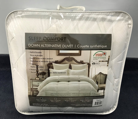TWIN (SINGLE) SIZE- SLEEP COMFORT- DUVET