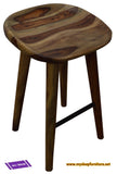 TAHOE- NATURAL COLOR- FIXED HEIGHT- WOOD- COUNTER STOOL