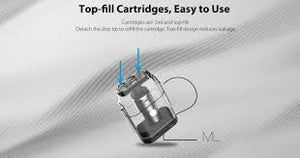 UWELL Caliburn Replacement Pod Cartridges 1.4ohm 4pcs