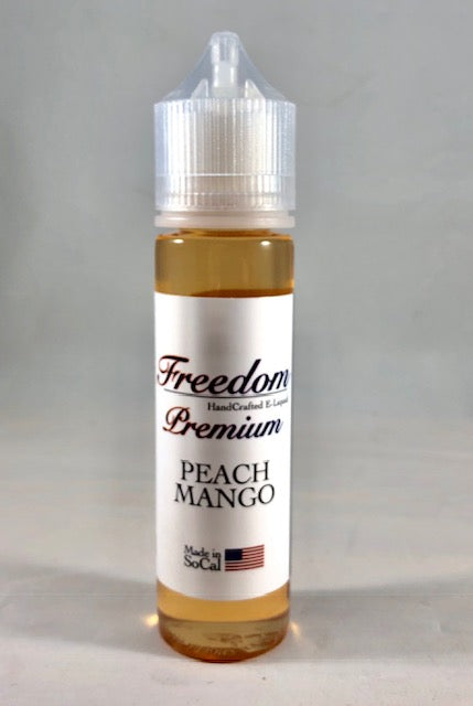 Peach Mango - Mango Smoothie w/Golden Peaches Premium 60ml