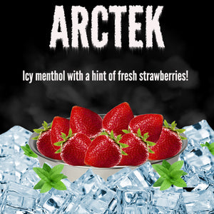 Arctek - Icy Menthol w/a hint of fresh strawberries! 60ml Up To 24mg