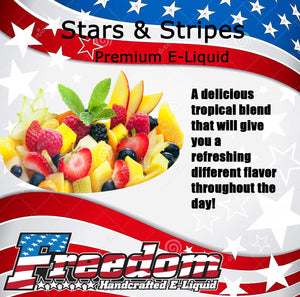 Stars & Stripes - Tasty Tropical Blend Premium 60ml