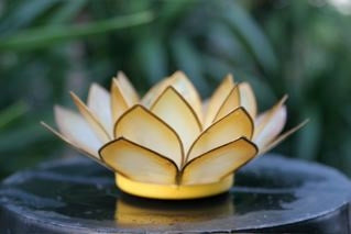People Behind the Product: Capiz Lotus Candleholders