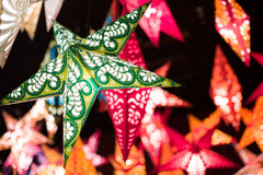 Hanging Paper Star Lanterns collection om gallery