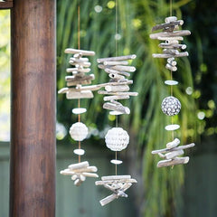 Capiz Shell and Driftwood Garlands collection om gallery