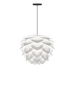 Umage Silvia Hanging Lamp, White / Swag Kit