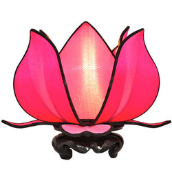 Baby Blooming Lotus Lamp, Pink