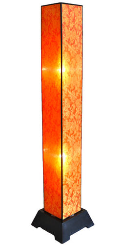 Tana Silk Floor Lamp, Citrus