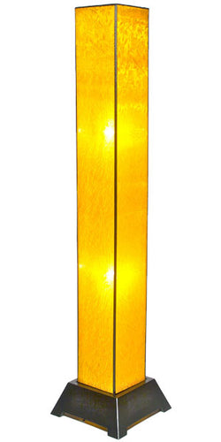 Tana Silk Floor Lamp, Gold