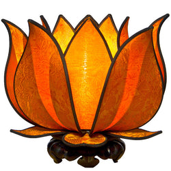 Blooming Lotus Table Lamp, Sun