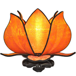 Baby Blooming Lotus Lamp, Citrus