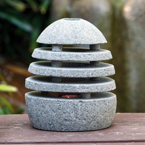 Candle Holder Stone Shade