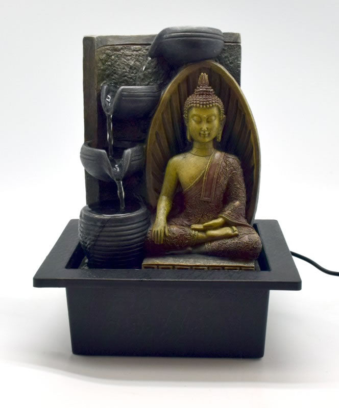 Earth Touching Buddha Fountain