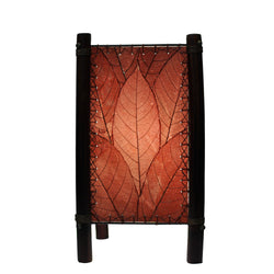 Fortune Table Lamp, Burgundy